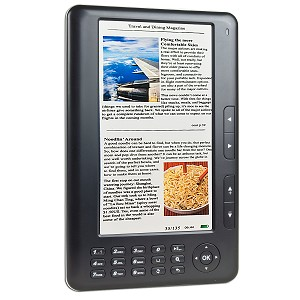 "7"" SkyTex Primer 2GB Color eBook Reader/MP3 Digital Music/Video"
